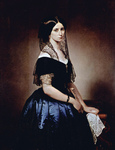 Photo of Antonietta Tarsis Basilico by Francesco Hayez