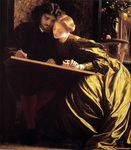 Photo of The Painter's Honeymoon by Frederic Lord Leighton