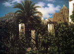 Photo of a Garden of an Inn, Capri, by Frederic Lord Leighton