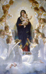 Photo of The Virgin With Angels by William-Adolphe Bouguereau