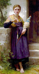 Photo of The Spinner by William-Adolphe Bouguereau