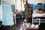 Lassa Fever Patient Recovering at the Segbwema, Sierra Leone Clinic