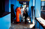 People Sanitizing a Clinic During the Kikwit, Zaire Ebola Outbreak in 1995