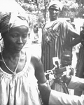 Togolese Woman Getting a Smallpox Vaccine - 1967