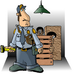 http://www.imageenvision.com/sm/0012-0709-3019-0027_male_security_guard_with_a_flashlight_two_burglars_in_a_crate_in_the_background_clipart.jpg