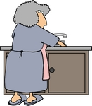 http://www.imageenvision.com/sm/0012-0709-3019-0826_senior_woman_washing_dishes_at_a_kitchen_sink_clipart.jpg