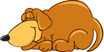 Sleeping Dog Clipart  Free download best Sleeping Dog
