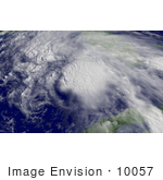 #10057 Picture Of Tropical Storm Arlene
