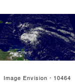 #10464 Picture Of Tropical Depression Six