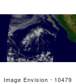 #10479 Picture Of Tropical Depression Enrique
