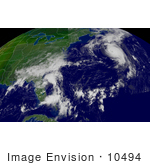 #10494 Picture Of Hurricane Fabian Tropical Depression Henri