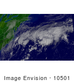 #10501 Picture Of Tropical Depression Henri
