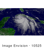 #10525 Picture Of Tropical Storm Isidore