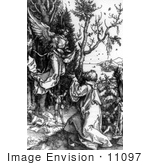 #11097 Picture Of An Angel Appearing To Joachim