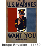 #11439 Picture Of Us Marines Recruiting