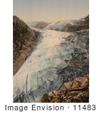 #11483 Picture Of Buerbrae Glacier In Norway