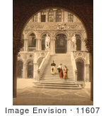 #11607 Picture Of The Staircase Of The Giant'S At Doge'S Palace