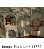 #11775 Picture Of The Interior Of A Chapel In Zurich