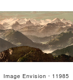 #11985 Picture Of The Bernese Alps In Switzerland