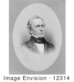 #12314 Picture Of Engraving Of Edward Everett
