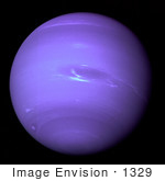 #1329 Stock Photo Of Planet Neptune