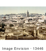 #13446 Picture Of Tunis Tunisia In 1899