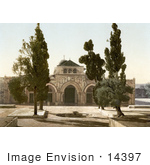 #14397 Picture Of The Mosque Of El-Aksa Jerusalem