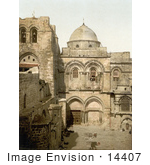 #14407 Picture Of The Holy Sepulchre Jerusalem Israel
