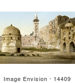 #14409 Picture Of Assises And The Tower Of Antonio Jerusalem