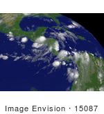 #15087 Picture Of Tropical Depression Felix Tegucigalpa Honduras