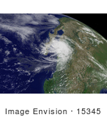 #15345 Picture Of Hurricane Henriette Near Mexico