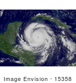 #15358 Picture Of Hurricane Dean