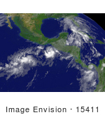 #15411 Picture Of Tropical Depression Barbara
