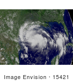 #15421 Stock Photo Of Tropical Storm Erin