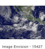 #15427 Picture Of Tropical Depression 10e Near Guadalajara