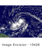 #15428 Picture Of Tropical Storm Dean