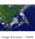 #15429 Picture Of Tropical Storm Chantal Near Bermuda