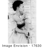 #17630 Picture Of Singer And Actress Eartha Kitt