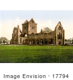 #17794 Photo Of The Cistercian Sweetheart Abbey In Dumfries Scotland