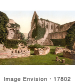 #17802 Photo Of The Ruins Of Tintern Abbey In Tintern England