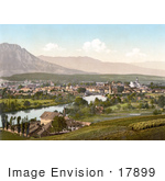 #17899 Picture Of The City Of Solothurn In Switzerland