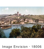 #18006 Picture Of The Fortified Munot On The Hilltop Of Schaffhausen Switzerland