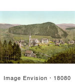 #18080 Picture Of The Village Of Dussnang In Thurgau Switzerland
