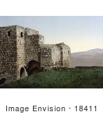 #18411 Photo Of Architecture Ruins In Jezreel Holy Land Israel