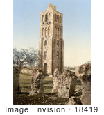 #18419 Photo Of The Tower Of The Forty Martyrs Nebi-Samuel Holy Land Israel
