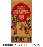 #1856 World Peace With Liberty And Prosperity