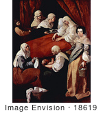 #18619 Photo Of The Birth Of The Virgin Mary By Francisco De Zurbaran