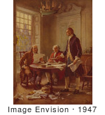 #1947 Writing The Declaration Of Independence