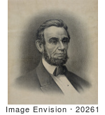 #20261 Historical Stock Photography: Abraham Lincoln Abe Lincoln 16th President Of The Usa