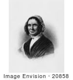 #20858 Stock Photography of First Lady Abigail Powers Fillmore, Wife of American President Millard Fillmore by JVPD